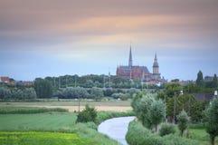 Veurne Φλαμανδική περιοχή Βέλγιο Στοκ εικόνες με δικαίωμα ελεύθερης χρήσης