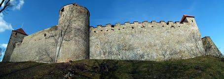Veveri城堡 免版税库存照片