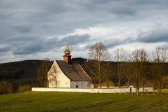 Veveri教堂,布尔诺,捷克 库存图片