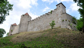 Veveri fortified castle, Czech republic, Europe Royalty Free Stock Photo