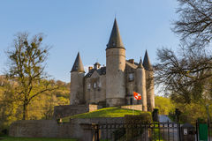 Veves Castle in Belgium Royalty Free Stock Photography