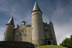 Veves castle. royalty free stock photo