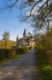 Veves Castle in Belgium Stock Photography