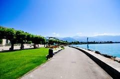 Vevey, die Schweiz Stockbilder