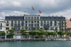 Vevey hotell arkivbild