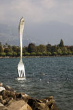 Vevey sights Stock Image