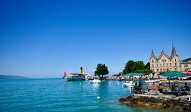 Vevey, Switzerland stock image