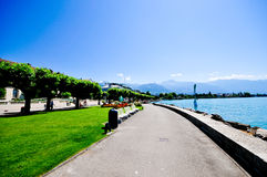 Vevey, Switzerland Stock Images