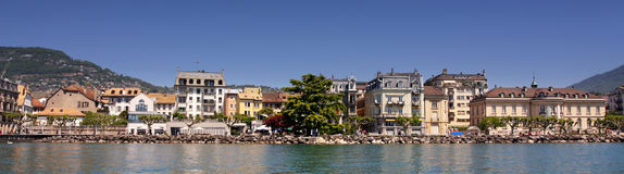 Vevey (Vaud), Suiza foto de archivo