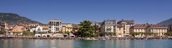 Vevey (Vaud), Zwitserland stock foto