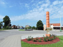 Vevirzenai town, Lithuania Royalty Free Stock Photo