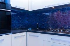 Vew современной кухни Стоковая Фотография RF