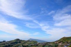 Vew della montagna di Phu Thap Boek Immagine Stock Libera da Diritti