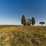 Vew of the hilly landscape in Tuscany. Stock Photo