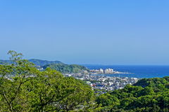 Vew of Kamakura city Royalty Free Stock Images