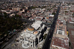 Vew of mexico city in the afternoon Stock Photo