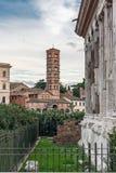 Vew Santa Maria dans Cosmedin Image stock
