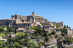 Vew of the village of Gordes in France Royalty Free Stock Photography