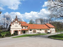 Vezaiciai manor, Lithuania Stock Photos