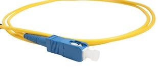 Vezel optische kabel Royalty-vrije Stock Foto