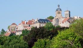 Vezelay Imagen de archivo libre de regalías