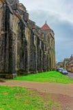 Vezelay-Abtei an Region des Burgunds Franche Comte in Frankreich Lizenzfreies Stockfoto