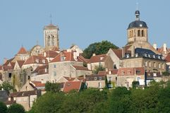 Vezelay, France Stock Photo