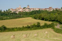 Vezelay, France Stock Image