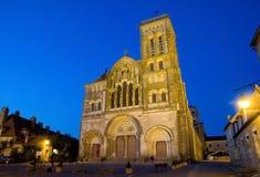 Vezelay, Frankreich Stockbild