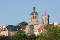 Vezelay Frankrike Royaltyfri Foto