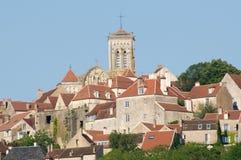 Vezelay Frankrike Royaltyfri Bild
