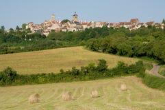 Vezelay Frankrike Fotografering för Bildbyråer