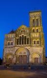 Vezelay Frankrike Arkivbilder