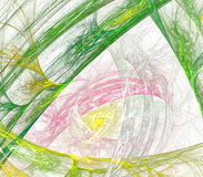 Vezels van de kleuren de abstracte kunst, achtergrond. royalty-vrije illustratie