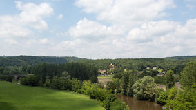 The Vezere River Royalty Free Stock Images