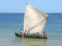 vezo ψαράδων Στοκ φωτογραφία με δικαίωμα ελεύθερης χρήσης