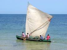 Vezo fisherman Royalty Free Stock Photo