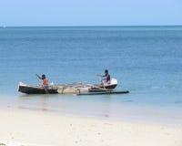 Vezo fisherman Royalty Free Stock Image