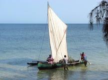 Vezo fisherman Stock Images