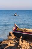 Vezo fisherman stock image