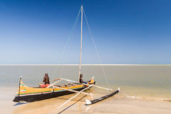 Vezo fishermen Stock Image