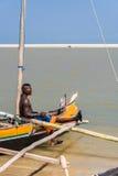 Vezo fishermen Royalty Free Stock Images