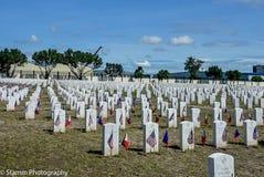 2018 VFW-de Diensten in Clark Cemetery, Filippijnen Royalty-vrije Stock Foto
