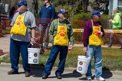 VFW e i poppys donano Fotografia Stock Libera da Diritti
