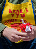 VFW and poppys Royalty Free Stock Photo