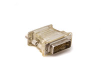 VGA к конвертеру дисплея DVI Стоковые Изображения