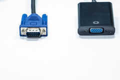 VGA al convertitore di HDVI immagine stock libera da diritti