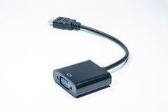 VGA al convertitore di HDVI Immagini Stock