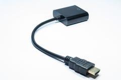 VGA al convertitore di HDVI Immagini Stock Libere da Diritti