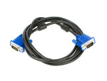 VGA Cable Stock Photography
